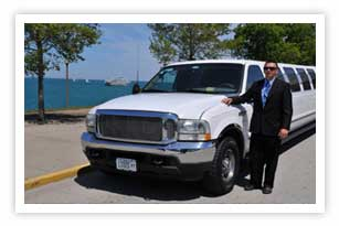 Chicago Ford Excursion SUV limousine