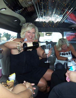 Chicago Retirement Party Limo